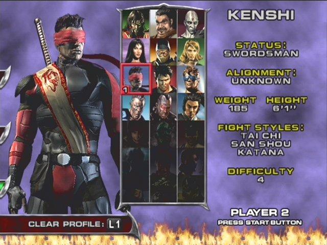 Screenshot Thumbnail / Media File 2 for Mortal Kombat - Deadly Alliance (USA)