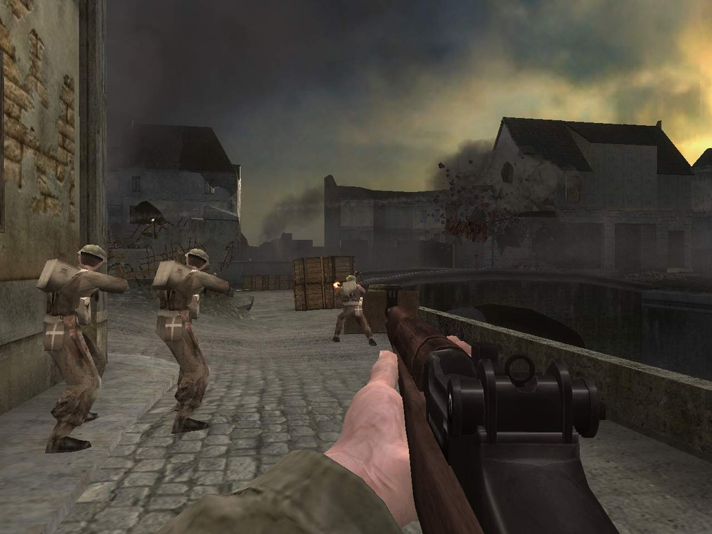 medal of honor european assault ps2