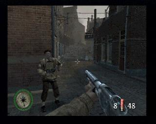 Screenshot Thumbnail / Media File 1 for Medal of Honor - Frontline (USA)