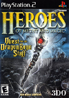 Screenshot Thumbnail / Media File 1 for Heroes of Might and Magic - Quest for the DragonBone Staff (USA)