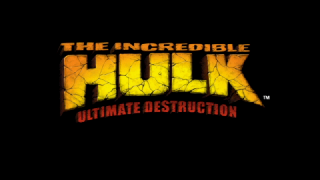Screenshot Thumbnail / Media File 1 for Incredible Hulk, The - Ultimate Destruction (USA)