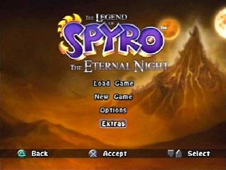 Screenshot Thumbnail / Media File 1 for Legend of Spyro, The - The Eternal Night (USA)