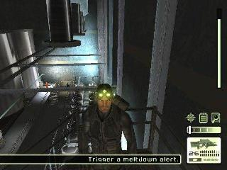 Screenshot Thumbnail / Media File 1 for Tom Clancy's Splinter Cell (USA)