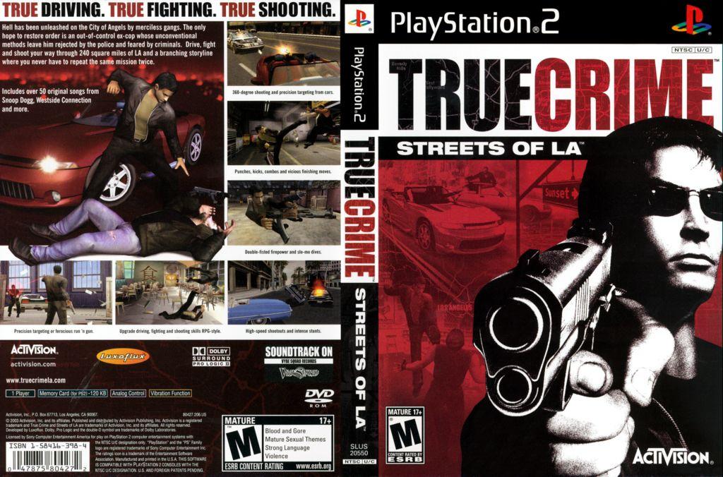 True Crime Streets Of La Usa Iso