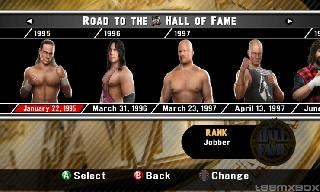 Screenshot Thumbnail / Media File 1 for WWE SmackDown vs. Raw 2008 (USA)