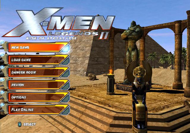 Screenshot Thumbnail Media File 1 For X Men Legends II