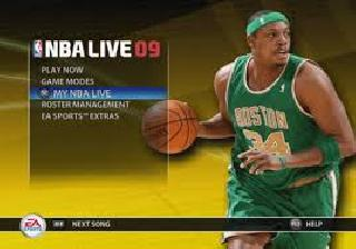 Screenshot Thumbnail / Media File 1 for NBA Live 09 (USA) (En,Fr)