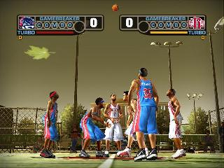 Screenshot Thumbnail / Media File 1 for NBA Street V3 (USA)