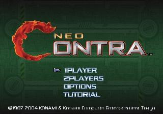 Screenshot Thumbnail / Media File 1 for Neo Contra (USA)
