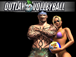 Screenshot Thumbnail / Media File 1 for Outlaw Volleyball (USA)