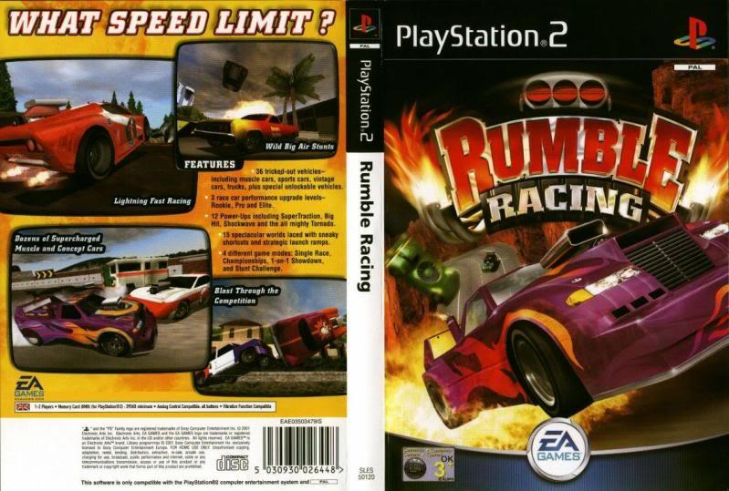 Rumble Racing Ps2 Скачать Торрент