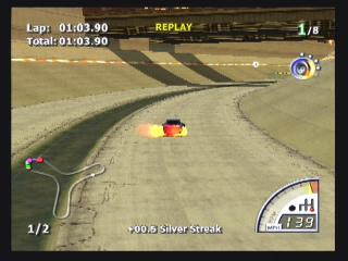Screenshot Thumbnail / Media File 1 for Rumble Racing (USA)