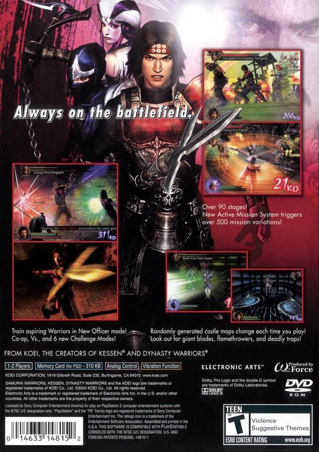 Samurai Warriors (USA) ISO < PS2 ISOs   Emuparadise