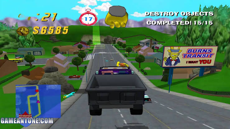 Simpsons, The - Road Rage (USA) ISO < PS2 ISOs   Emuparadise