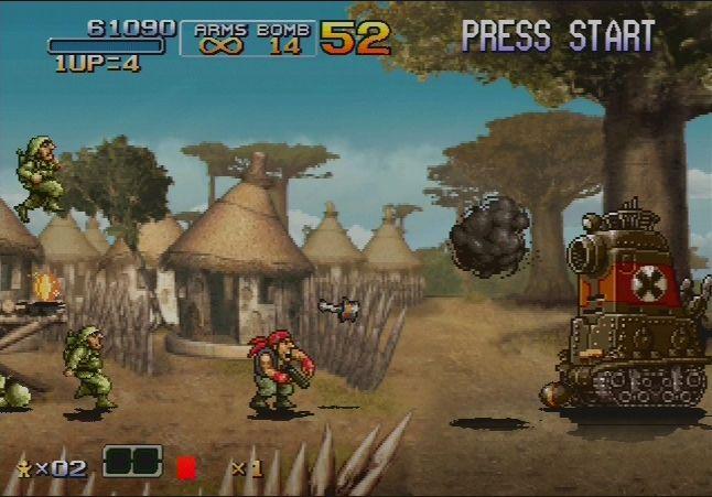 Скачать игру metal slug 6