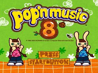 Screenshot Thumbnail / Media File 1 for Pop'n Music 8 (Japan)