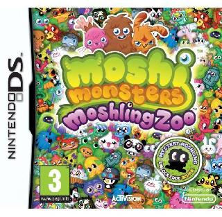 Screenshot Thumbnail / Media File 1 for Moshi Monsters - Moshling Zoo (E)