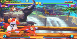 Screenshot Thumbnail / Media File 1 for Street Fighter III - New Generation (JP)