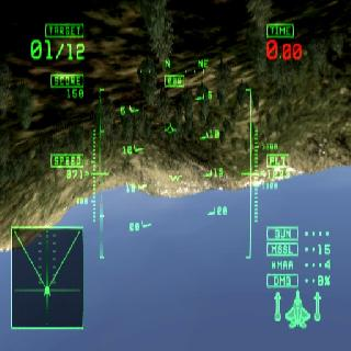 Screenshot Thumbnail / Media File 1 for Ace Combat - Squadron Leader (Europe, Australia) (En,Fr,De,Es,It)