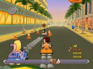 Screenshot Thumbnail / Media File 1 for Action Girlz Racing (Europe)