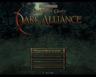 Screenshot Thumbnail / Media File 1 for Baldur's Gate - Dark Alliance (Europe, Australia) (En,Fr,De,Es,It)