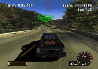 Screenshot Thumbnail / Media File 1 for Burnout (Europe) (En,Fr,De,Es,It)