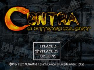 Screenshot Thumbnail / Media File 1 for Contra - Shattered Soldier (Europe) (En,Fr,De,Es,It)