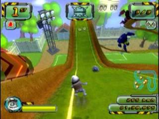 Screenshot Thumbnail / Media File 1 for Crazy Frog Racer 2 (Europe) (En,Fr,De,Es,It)