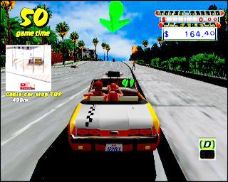 Screenshot Thumbnail / Media File 1 for Crazy Taxi (Europe) (En,Fr,De,Es)