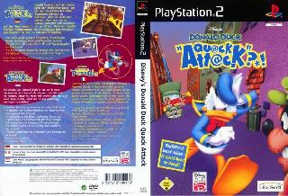 Screenshot Thumbnail / Media File 1 for Disney's Donald Duck - Quack Attack (Europe) (En,Fr,De,Es,It)