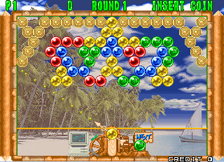 Screenshot Thumbnail / Media File 1 for Puzzle Bobble 2 (Ver 2.3O 1995/07/31)