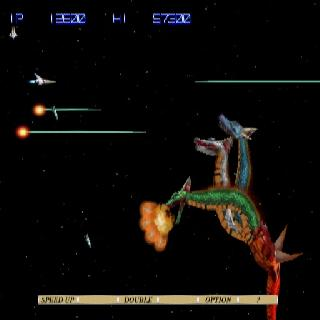 Screenshot Thumbnail / Media File 1 for Gradius III and IV (Europe)