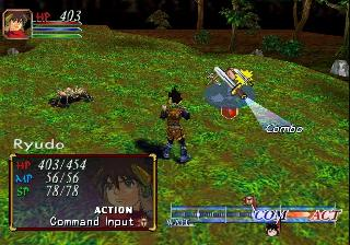 Screenshot Thumbnail / Media File 1 for Grandia II (Europe)