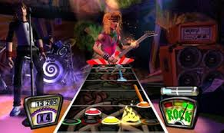 Screenshot Thumbnail / Media File 1 for Guitar Hero - Rocks the 80s (Europe) (Fr,De,Es,It)