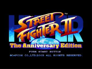 Screenshot Thumbnail / Media File 1 for Hyper Street Fighter 2 - The Anniversary Edition (Europe)