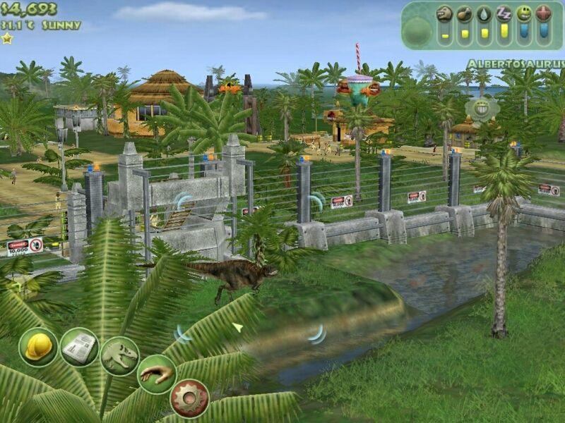 Jurassic Park Operation Genesis Europe En Fr De Es It