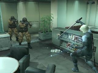 Screenshot Thumbnail / Media File 1 for Metal Gear Solid 2 - Substance (Europe) (En,Fr,De,Es,It)