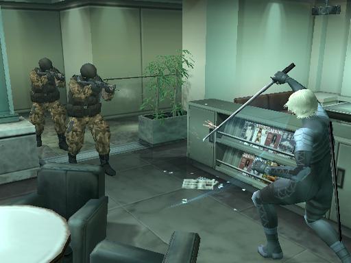 Metal Gear Solid 2 - Substance (Europe) (En,Fr,De,Es,It) ISO