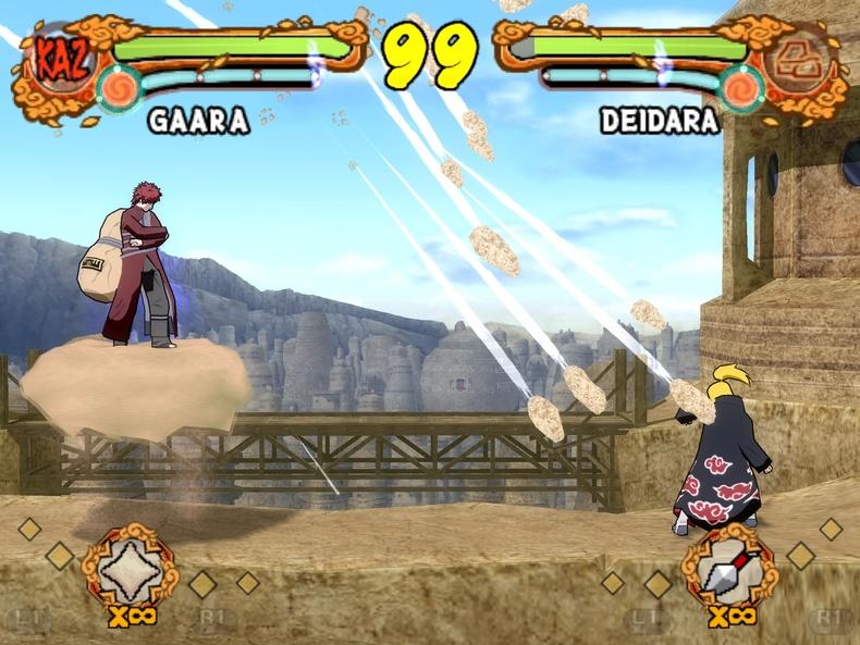 Naruto Shippuden - Ultimate Ninja 4 (Europe) (De,Es,It) ISO