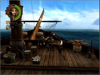 Screenshot Thumbnail / Media File 1 for Pirates of the Caribbean - The Legend of Jack Sparrow (Europe)