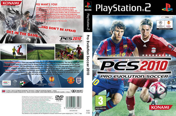 Pro Evolution Soccer 2010 (Europe) (Es,It,Pt) ISO < PS2 ISOs