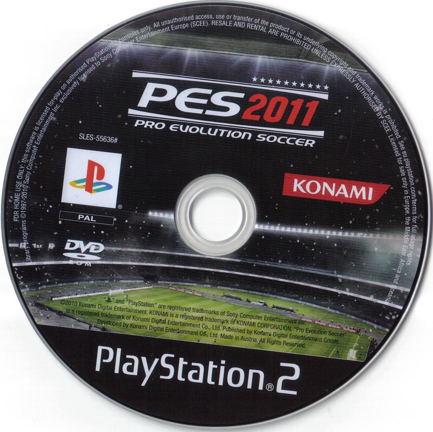 Pro Evolution Soccer 2011 (Europe) (Es,It,Pt,El) ISO < PS2