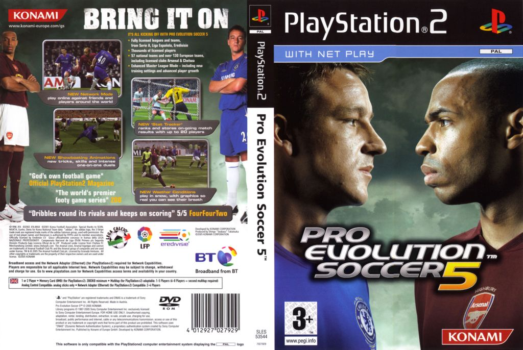 Pro Evolution Soccer 5 - PES 5 | PlayStation Việt Nam