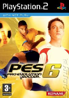 Screenshot Thumbnail / Media File 1 for Pro Evolution Soccer 6 (Europe)