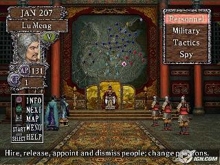 Screenshot Thumbnail / Media File 1 for Romance of the Three Kingdoms VIII (Europe)
