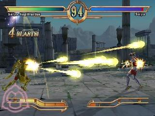 Screenshot Thumbnail / Media File 1 for Saint Seiya - The Sanctuary (Europe) (En,Ja,Fr,De,Es,It)