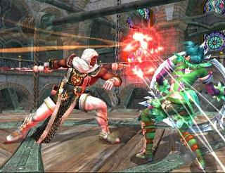 Screenshot Thumbnail / Media File 1 for Soulcalibur III (Europe) (En,Ja,Fr,De,Es,It)