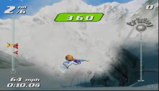 Screenshot Thumbnail / Media File 1 for SSX Tricky (Europe) (En,Fr,De)
