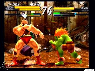 Screenshot Thumbnail / Media File 1 for Street Fighter EX3 (Europe)
