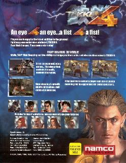 Screenshot Thumbnail / Media File 1 for Tekken 4 (Europe, Australia) (En,Fr,De,Es,It)